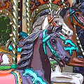 Painted Ponies by Anne Cameron Cutri