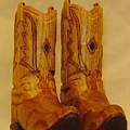 Pair Of Cowboy Boots by Russell Ellingsworth