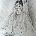 Pakistani Bride by Caroline  Urbania Naeem