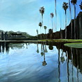 Palm Tree Reflections by Elizabeth Robinette Tyndall