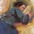 Pam Resting by Merle Keller