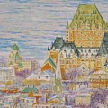 Panorama Of Quebec.2004 by Natalia Piacheva