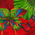 Papillon Rouge by Debbie McCulley