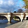Paris Bridge 0523 by PhotohogDesigns