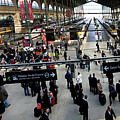 Paris Train Station by Frederic A Reinecke