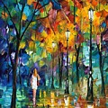 Park New by Leonid Afremov