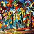 Park Of Freedom by Leonid Afremov