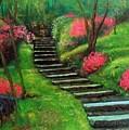 Park Steps by William Tremble
