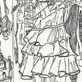 Party Dress In Closet by Kayla Race