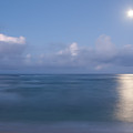Pastel Moonset by Roger Mullenhour