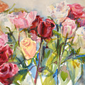 Paul's Roses by Joyce Kanyuk