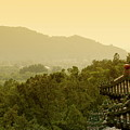 Pavilion Rooftops And Lush Foliage As Seen From The Summer Palace by Sami Sarkis