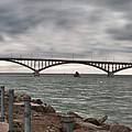 Peace Bridge by Guy Whiteley