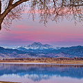 Peaceful Early Morning First Light Longs Peak View by James BO Insogna