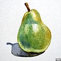 Pear by Irina Sztukowski