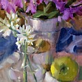 Peggy's Orchids by Judy Crowe