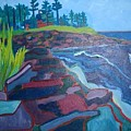 Pemaquid Cliffs by Debra Bretton Robinson