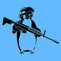 Penguin Soldier by Pixel Chimp