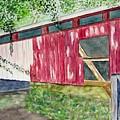 Pennsylvania Bridge To Nowhere by Larry Wright