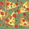 Pepperoni Pizza by Jen Norton