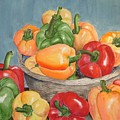 Peppers by Diane Ziemski