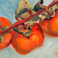 Persimmons by Athena Mantle