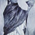 Peruvian Girl by Myra Evans