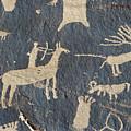 Petroglyphs, Utah by Granger