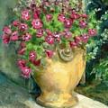 Petunias by Linda Vespasian