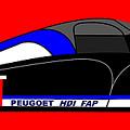 Peugeot 908 Hdi Sat - No. 8 by Asbjorn Lonvig