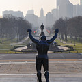 Philadelphia Champion - Rocky by Bill Cannon
