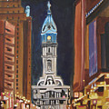 Philadelphia City Hall by Patricia Arroyo