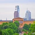 Philadelphia Museum Of Art From Lemon Hill by Bill Cannon