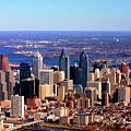 Philadelphia Skyline 2005 by Duncan Pearson
