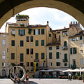 Piazza Antifeatro Lucca by Mathew Lodge