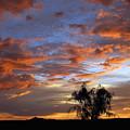 Picacho Peak Sunset II by Kurt Van Wagner