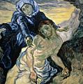 Pieta by Vincent van Gogh