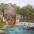 Pigeon Forge Mill by Marveta Foutch