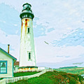 Pigeon Point Lighthouse by Dominic Piperata