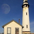 Pigeon Point Lighthouse by Wingsdomain Art and Photography
