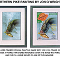 Pike And Perch by Jon Q Wright