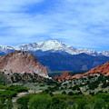 Pikes Peak And Garden Of The Gods 1 by Joseph R Luciano