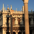 Pillars At Piazzetta San Marco In Venice by Michael Henderson