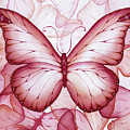 Pink Butterflies by Christina Meeusen