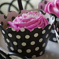 Pink Cupcake by Jim And Emily Bush