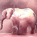 Pink Elephant by Arline Wagner