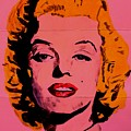 Pink Folded Marilyn by Ralph LeCompte