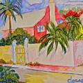 Pink House by Donna Steward