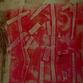 Pink Monotype by Susan Grissom