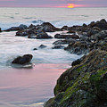 Pink Sunset by Greg Clure